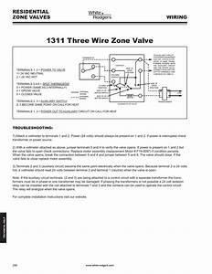 White Rodgers Zone Valve Wiring Schematic