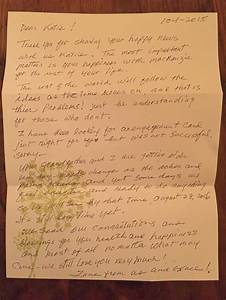 this grandma had the perfect response to finding out her With letter to grandson from grandmother