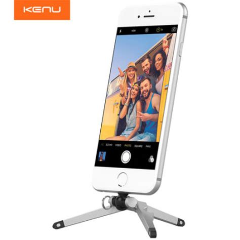 iphone 6 desk stand kenu stance compact iphone 6 6 plus tripod mobilezap