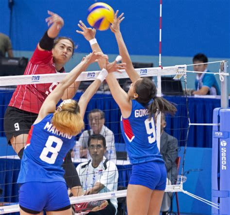 indonesia sweeps philippines  sea games womens volley