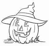 Coloring Halloween sketch template