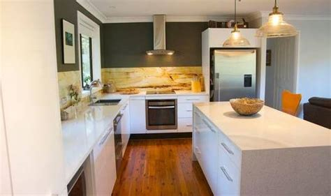 l shaped kitchen with island bench designs on your new kitchen newcastle herald 9663