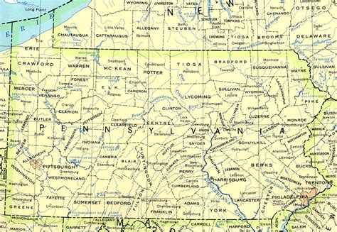 pennsylvania maps perry castañeda map collection ut