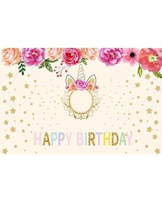 deal   ofila happy birthday backdrop xft