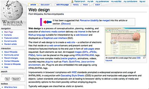 static web page wikipedia types of web and documents web style guide 3
