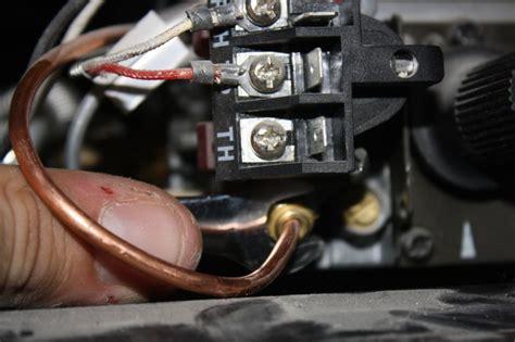 gas fireplace repair  pilot wont stay lit  gas