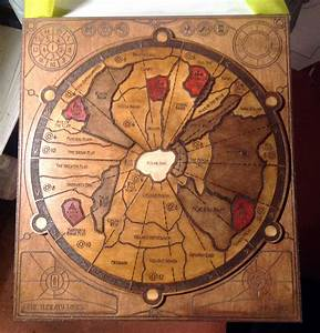 Dune Boardgame wooden board by DrMonkeyface on DeviantArt