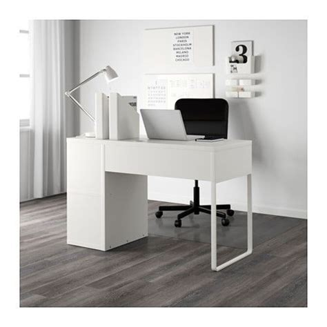 micke desk with integrated storage white pink 1000 ideas about bureau avec rangement on