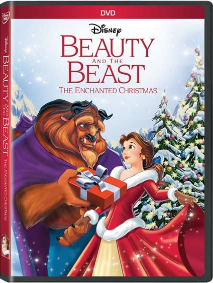 beauty   beast  enchanted christmas disney movies