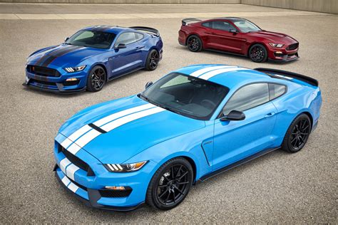 hot  colors  features announced   ford shelby