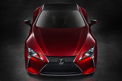 lexus lc  coming   armed