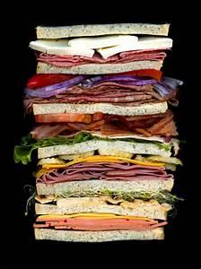 Book Report Sandwich Cross Sections Of Sandwiches By Jon Chonko Twistedsifter