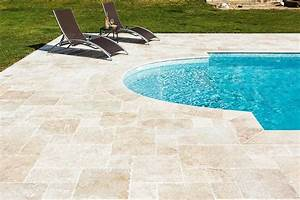 Travertin Exterieur Piscine : travertin beige opus romain multiformat p 1 2 cm terrasse pinterest travertin ~ Nature-et-papiers.com Idées de Décoration