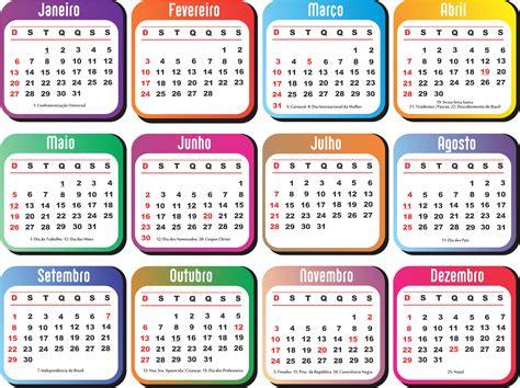 calendario  brazil   calendar printable