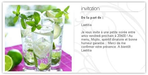 invitation aperitif e card d invitation cocktail envoi invitation