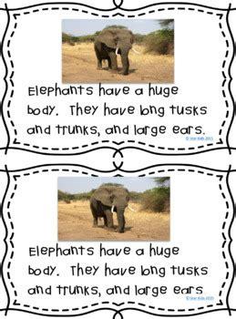 elephant activities nonfiction  fiction