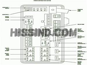 2007 Dodge Charger Fuse Diagram