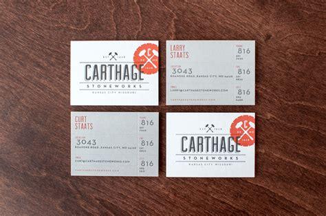 Carthage Stoneworks » Design Ranch Design Ranch Business Card Design Guidelines Tools Images Moo Size Holder Visiting Doctor Logo Mockup Unfinished Permit