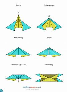 Paper Airplane Instructions U2019 Eagle Kidspressmagazinecom
