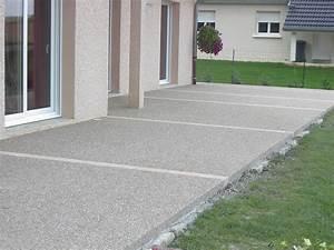 dalle beton pour terrasse wikiliafr With beton decoratif pour terrasse exterieure