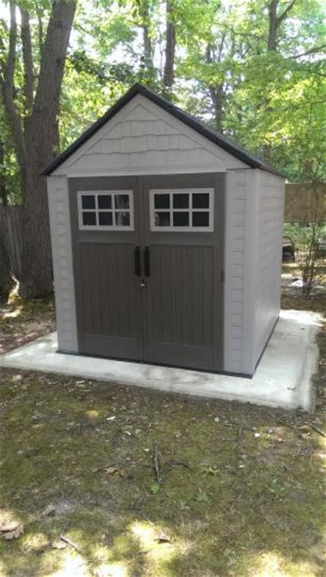 rubbermaid shed 7x7 home depot craftsman sheds rubbermaid 7x7 shed base