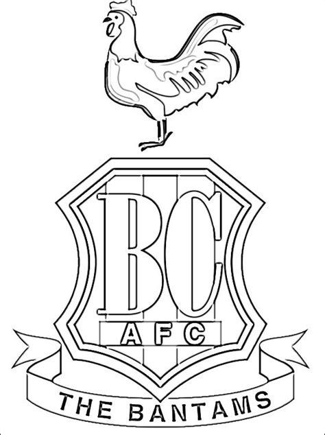 logo bradford city association football club disegni da