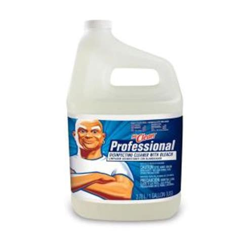 Mr Clean Bathroom Cleaner Discontinued mr clean 1 gal pro disinfecting with of 4