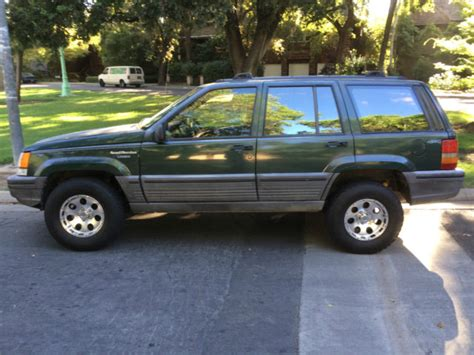 how it works cars 1993 jeep cherokee spare parts catalogs jeep grand cherokee suv 1993 forest green for sale 1j4gz58s3pc526309 1993 jeep grand cherokee