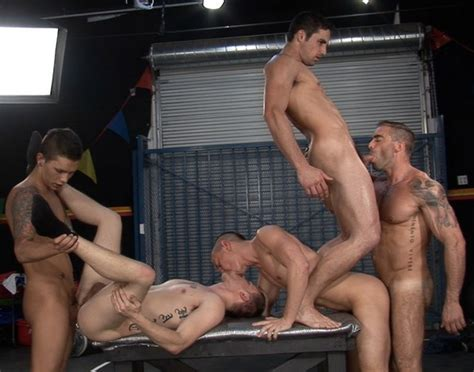 two hot orgy scenes from men and jet set men