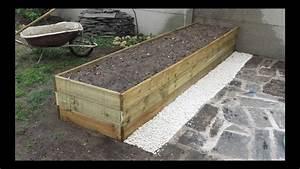 Comment Remplir Une Grande Jardinière : comment construire une grande jardini re youtube ~ Melissatoandfro.com Idées de Décoration
