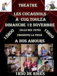 cuq toulza a nos amours theatre a la salle des fetes With les danger a la maison 12 vie ou theatre