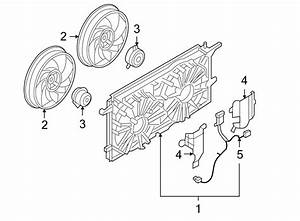 Chevrolet Uplander Engine Cooling Fan Motor  Left