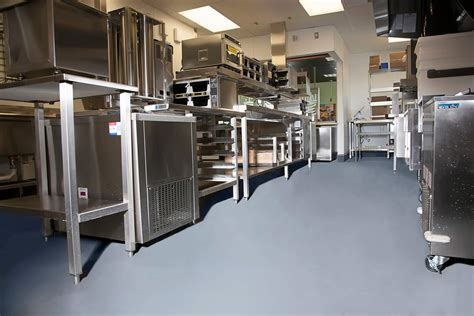 restaurant kitchen flooring epoxy flooring  commercial