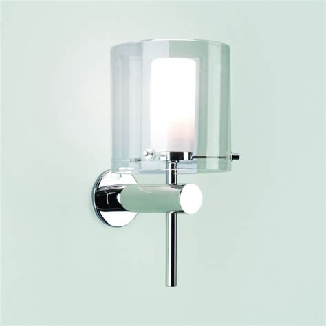 arezzo 0342 bathroom wall light ip44 polished chrome arm