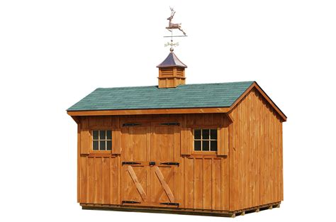 Sheds With Cupolas Example