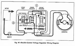 double contact voltage regulator wiring diagram for the With clic truck 12 volt wiring diagram