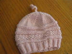 Babies Hats Knitting Pattern Free