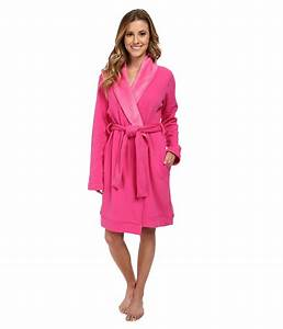 ugg blanche robe in pink lyst With robe blanche promod