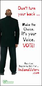 Get Out the Vote ads promote discussion | HSPA Foundation