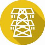 Electric Safety Electricity Icon Electrical Tower Tips