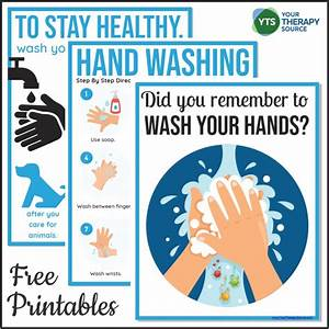 Hand Washing Posters For Schools - Free Printables