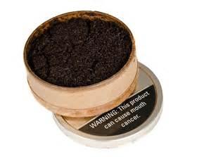 Smokeless Chewing Tobacco