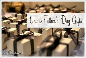 Unique Father's Day Gifts - Faithful Provisions