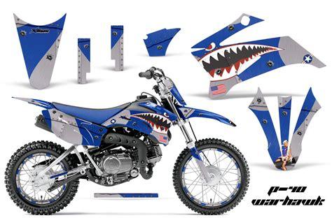 graphics for motocross bikes yamaha ttr110 motocross dirt bike graphic kit 2008 2018