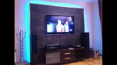led tv wand selber bauen cinewall    youtube