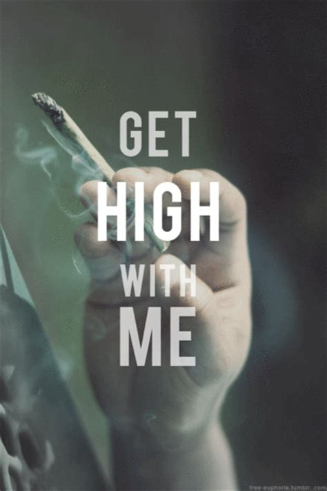 Smoke Weed Get High Quotes