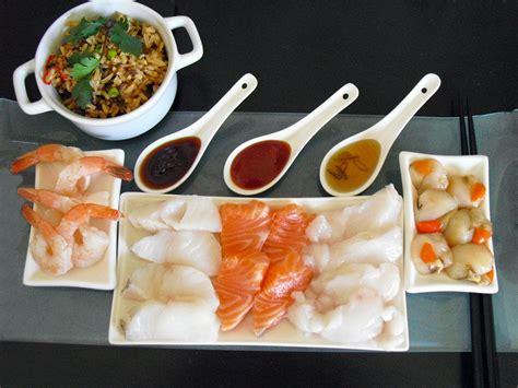 cuisine asiatique recette fondue japonaise facile au poisson la recette facile par