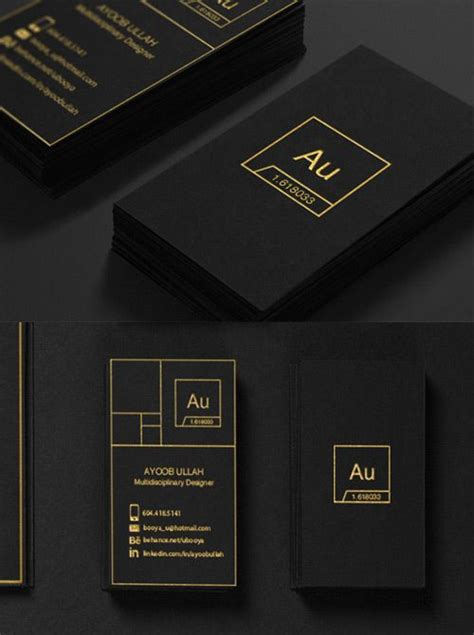 tarjetas de presentacion creativas  diversas