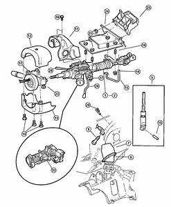 2001 Jeep Wrangler Housing  Steering Column Lock  W  Ign