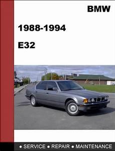 Bmw E32 1988-1994 7-series Service Repair Manual Download